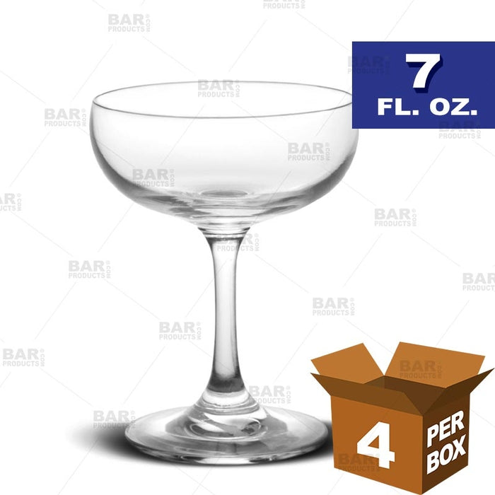 BarConic® Coupe Glass - 7 oz [Box of 4]