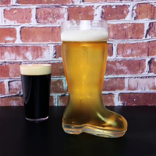 BarConic® 45 ounce Glass Beer Boot -  Das Boot - Beer Glass