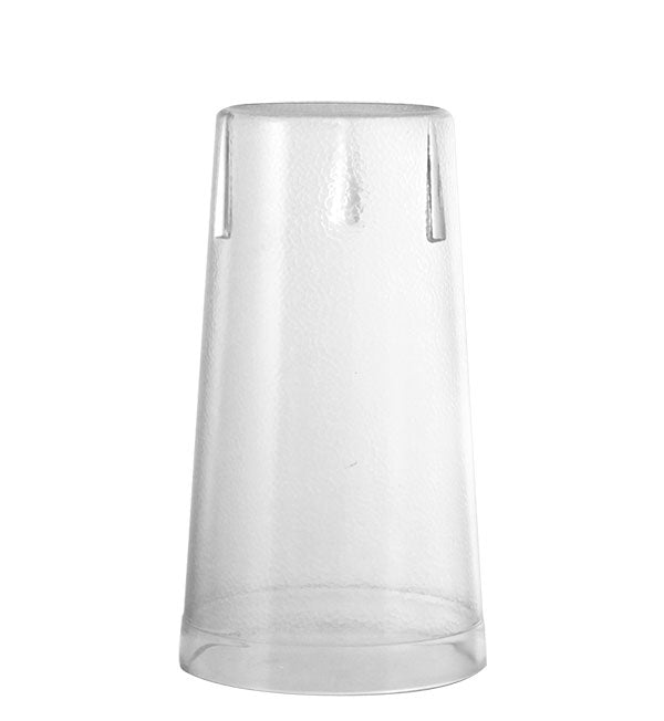 Barconic® Clear Stackable Pebbled Tumblers