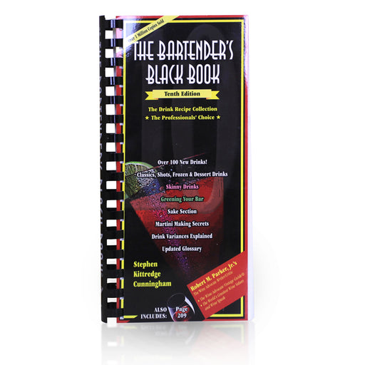 The Bartender's Black Book - 9th Edition - Cover