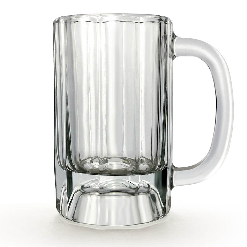 BarConic® Paneled Beer Mug - 10 ounce - Case of 12