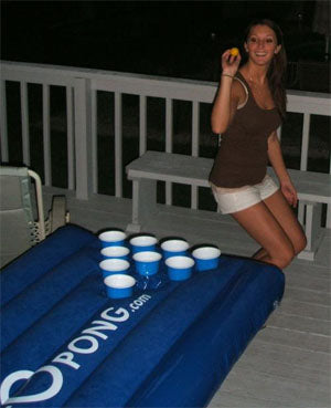 Beer Pong Table - Inflatable and Portable