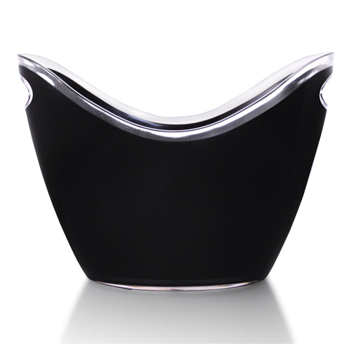 Black - Premium Acrylic Ice Bucket