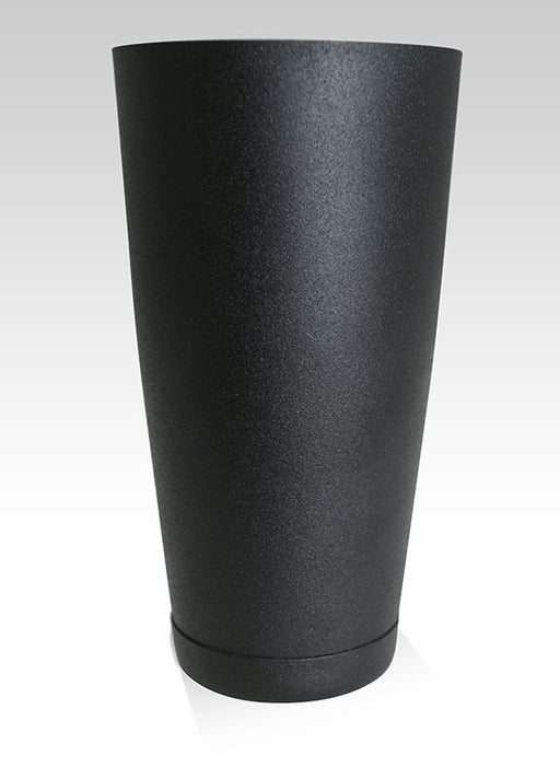 "Black ""Grip"" 28oz Weighted Cocktail Shaker"