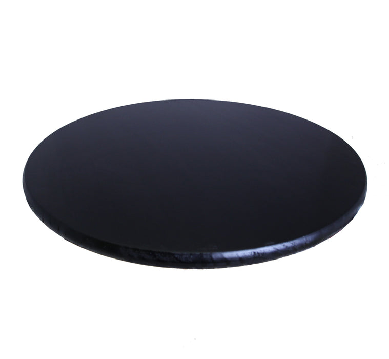Black Wooden Bar Table Tops