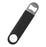 Speed Bottle Opener / Bar Key - Black Vinyl Rubber Grip