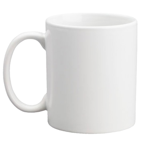Custom Coffee Mug - Blank - 11 ounce