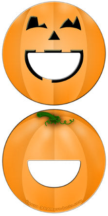 Round Bottle Opener - Pumpkin