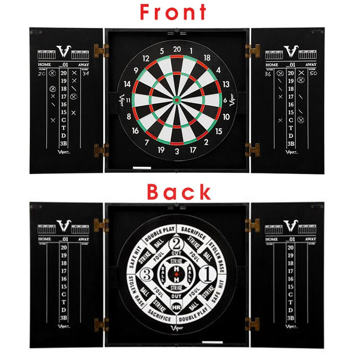 Customizable Tiki Bar Dart board Cabinet