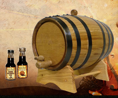 Oak Barrel Bootleg Kit - Rum