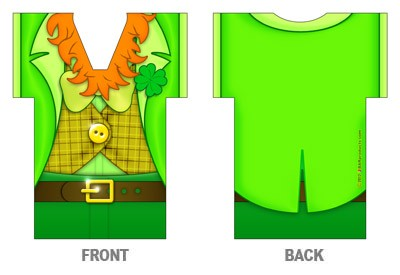 Bottle Cooler - T-Shirt Style - Leprechaun