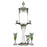 Absinthe Fountain - Twisted Glass 2 Spout