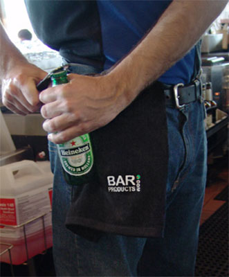 Bar Towel with BarProducts.com Logo