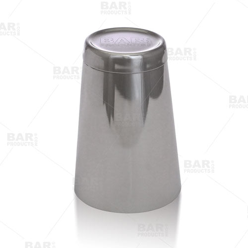 18 oz. Weighted Cocktail Shaker Tin with Embossed Logo