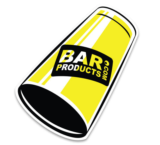Free Sticker - Die-Cut BarProducts.com Cocktail Shaker