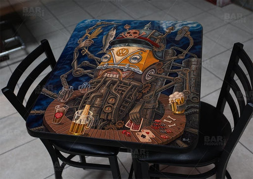 "Brew Bot 24"" x 30"" Wooden Table Top - Two Types Available"