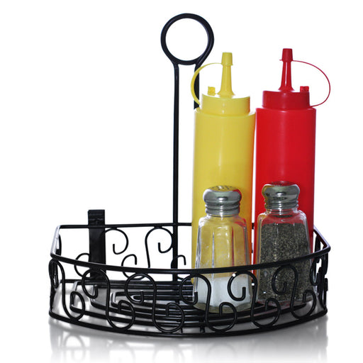 BarConic® Straight Back Condiment Caddy
