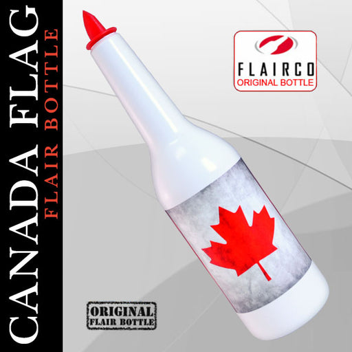 Kolorcoat™ Flair Bottle - Canada Flag Design - 750ml