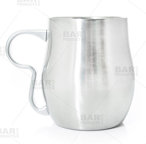 Double Wall Mug - Brushed Stainless Steel - 17oz / 500ml
