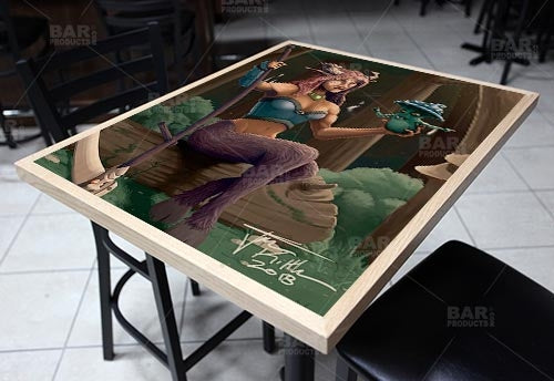 "Celyris 24"" x 30"" Wooden Table Top - Two Types Available"