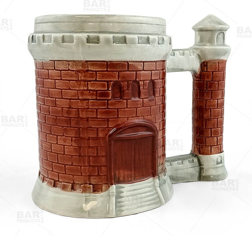 Castle Ceramic Mug - 18 Ounce