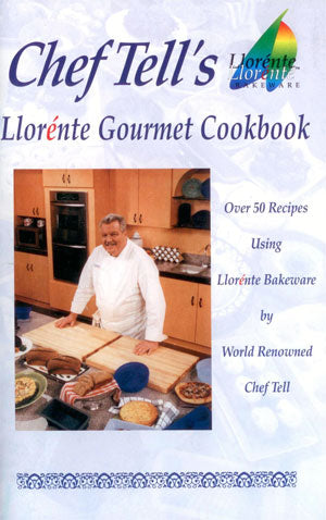 Chef Tell's Llorente Gourmet Cookbook - Cover