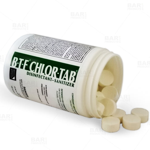 Disinfectant Sanitizing Tablets - BTF Chlor