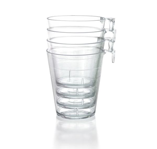 Barconic® 2oz Clear Plastic Shot Glass with Hook