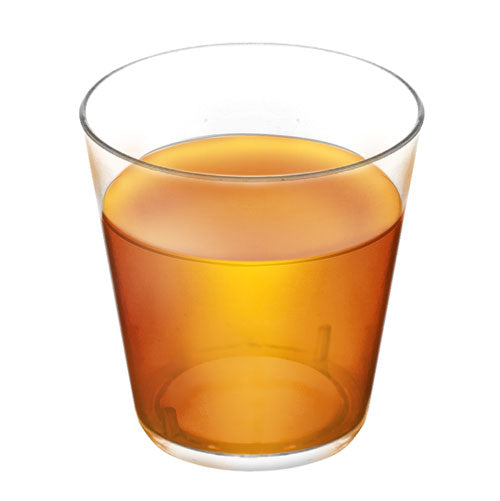 Barconic 1.5oz Clear Plastic Shot Glass Fill Line