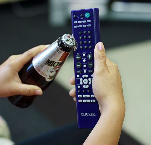 The Click - Universal Remote Control and Bottle Opener