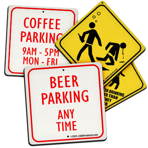 Street Signs Foam Kolorcoat Coaster