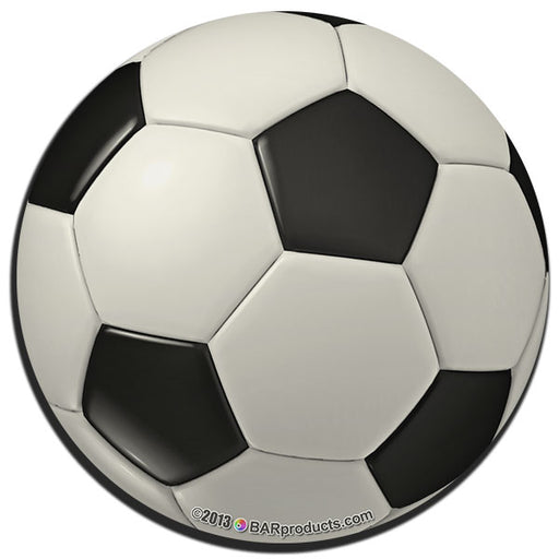 Soccer  Foam Kolorcoat Coaster