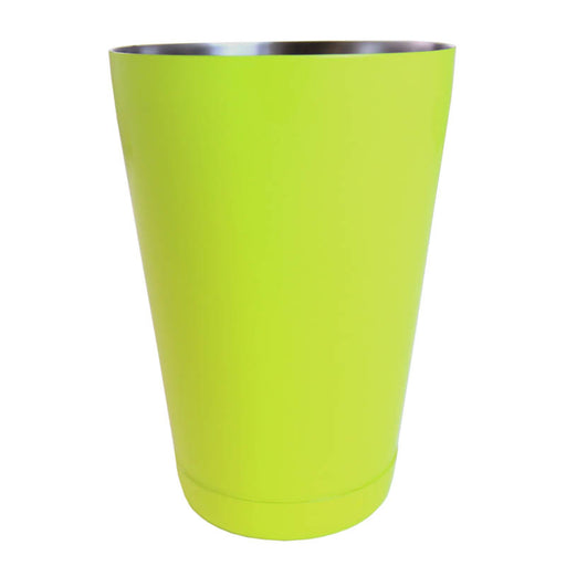 cocktail shaker tin - neon yellow - 18 ounce