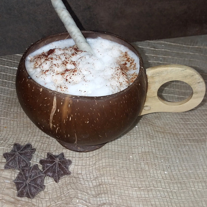 BarConic® Real Coconut Cup with Handle