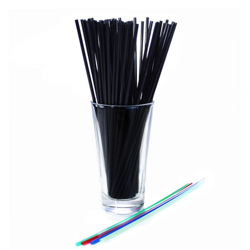 "BarConic® Collins Straws - 8"" - Color Options - Pack of 500"