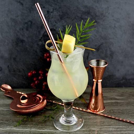 Olea™ Metal Cocktail Straw - Copper Plated
