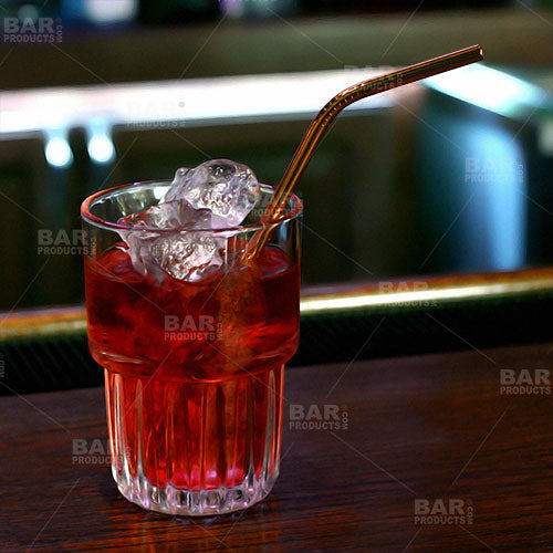 Copper Plated Cocktail Straws (4 Pack)