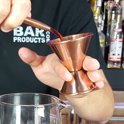 BarConic® Copper Plated 1x2 Double Sided Jigger