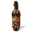 ADD YOUR NAME - Wine Bottle Cooler with Strap - Cork Pattern