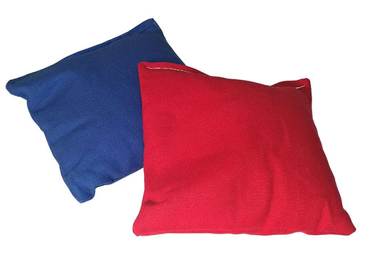 "Cornhole Bags - ACA Regulation - 6""x6"" Red and/or Blue"