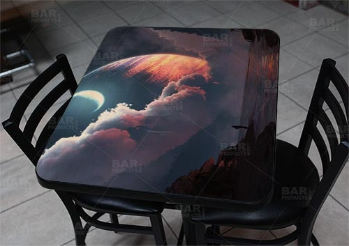 "Cronus Rising 24"" x 30"" Wooden Table Top - Two Types Available"