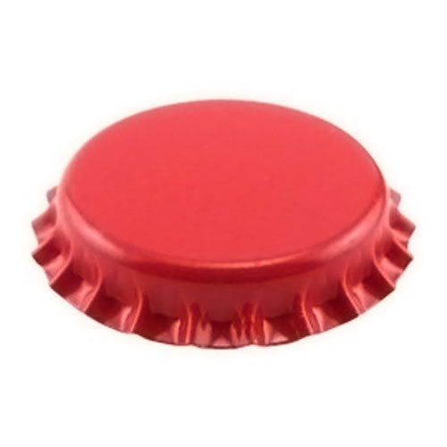 Crown Beer Bottle Caps - Red - Pack of 144
