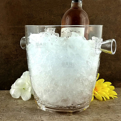 Clear Acrylic Wine Cooler - Crystal-Replica