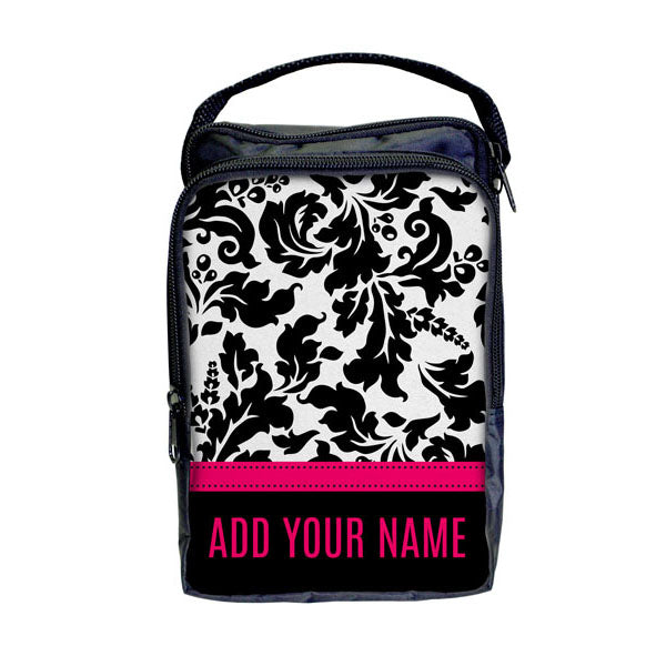 Bartender Tote Bag - ADD YOUR NAME Damask Camo Design