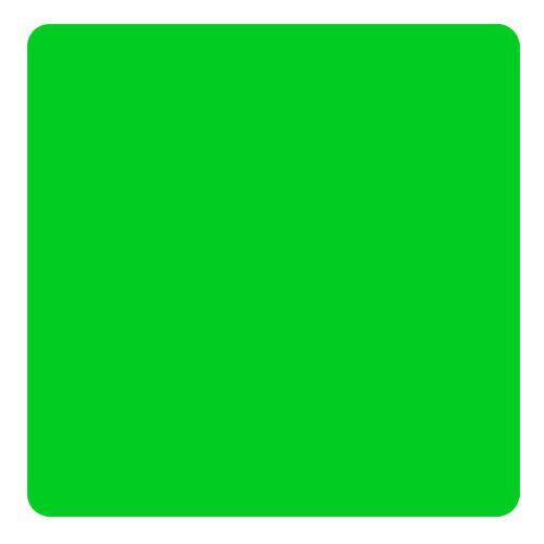 Kolorcoat™ Square Foam Coasters (4 Pack) - Green