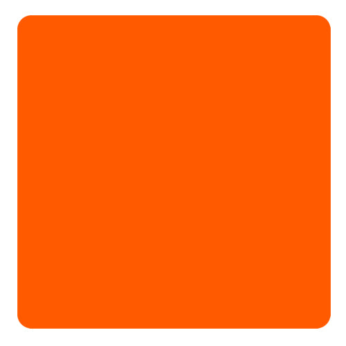 Kolorcoat™ Square Foam Coasters (4 Pack) - Orange
