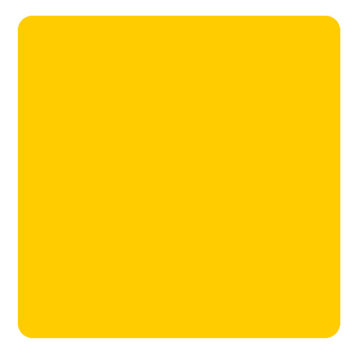 Kolorcoat™ Square Foam Coasters (4 Pack) - Yellow