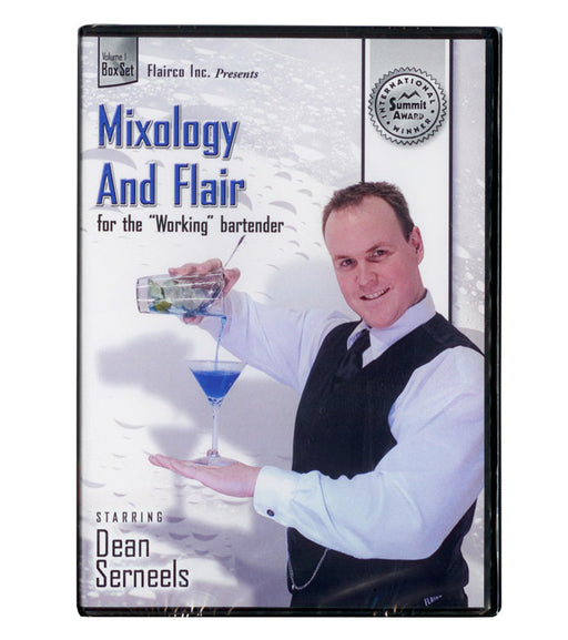 Dean Serneels Training DVD Volume 1 - Mixology and Flair