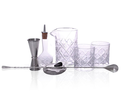 BarConic® Diamond Bar Kit w/13oz Mixing Glass Set