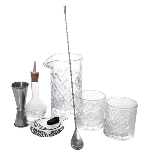 BarConic® Diamond Bar Kit w/22oz Mixing Glass Set